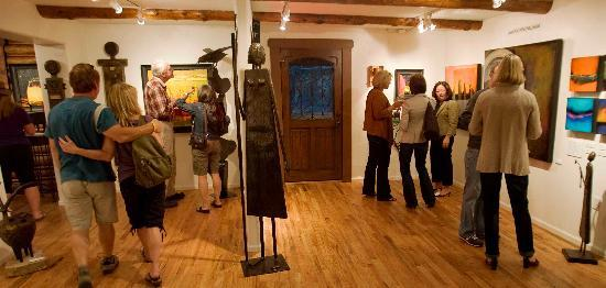 Indian Hills, CO: One of Mirada's monthly artist receptions
