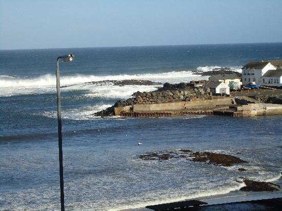 Portballintrae, UK: view from room
