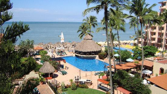 Vallarta Torre: View from balcony on the 5th floor