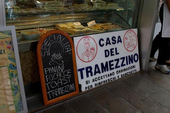 Casa del Tramezzino : sign