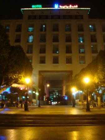 Hotel Balima: the facade