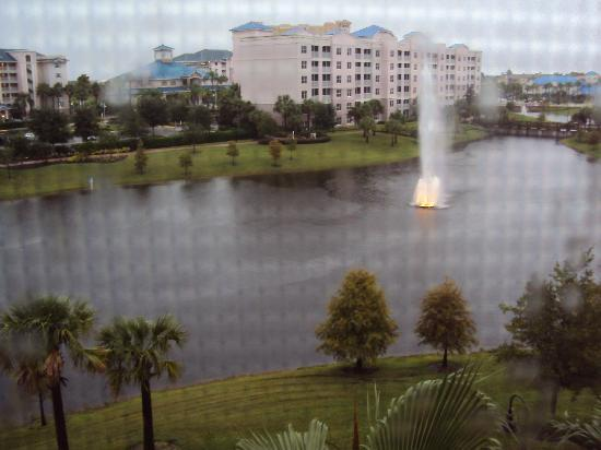 Bluegreen Fountains Resort : View from our room Building #8