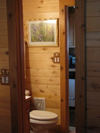 Hart's Rocky Mountain Retreat: 3/4 Bathroom