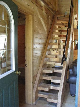 Hart's Rocky Mountain Retreat: Going Upstairs