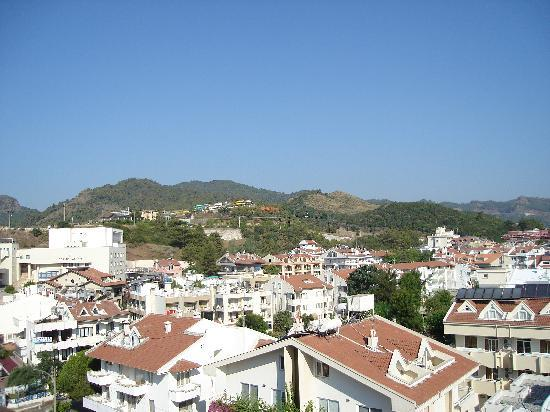 Hotel Alkan: view from the balcony