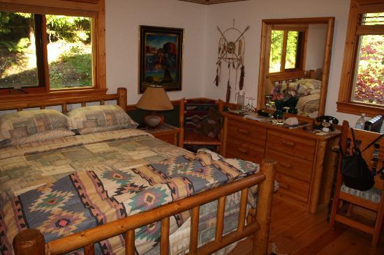 Nu-Salya Bed and Breakfast Chalet: Gästezimmereinrichtung