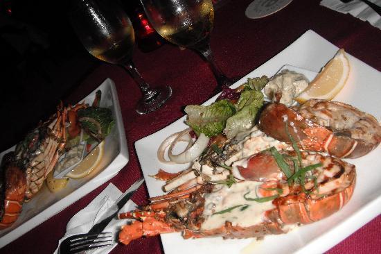 BuBu Long Beach Resort : restaurant - lobster