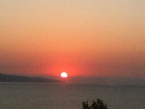 LTI Neptun Beach Hotel: morning sun rise
