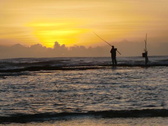 Le Manotel : Lever de soleil sur le platier, face au Manotel