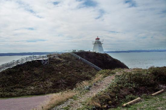Alma, Canada: Cape Enrage Lighthouse - Fundy National Park