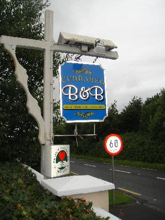 Currabeg B&B: Currabeg Sign