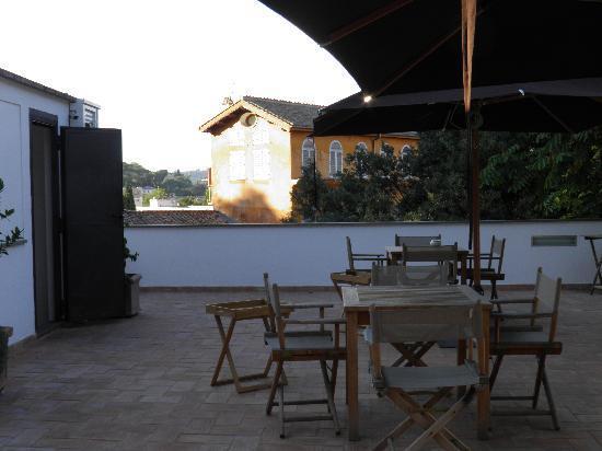 Hotel San Pancrazio: Terrace