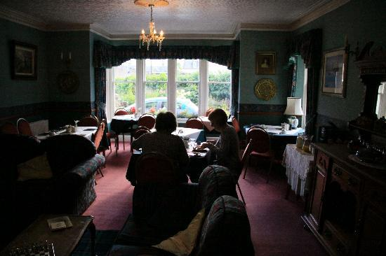 Kinkell House: common / dining room