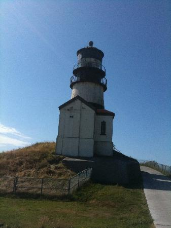 Cape Disappointment State Park: lighthouse