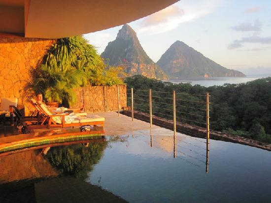 Jade Mountain Resort: Sun Sanctuary JA 1