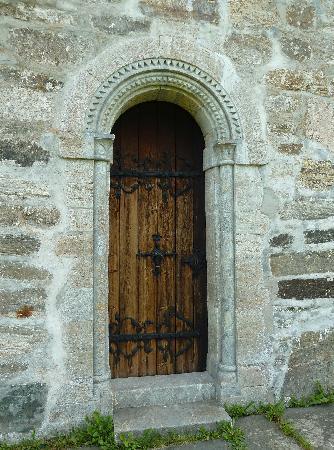 Hove Stone Church: Tür