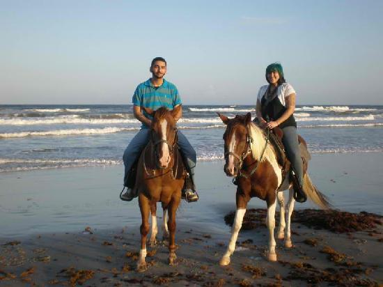 Horses On The Beach: Corpus Christi : my boyfriend and i
