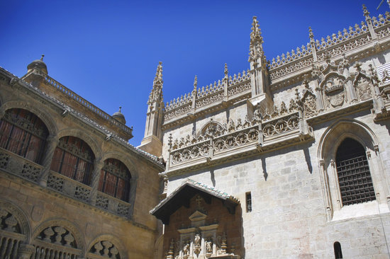Granada, Spanien: Capilla Real. Centro Histórico