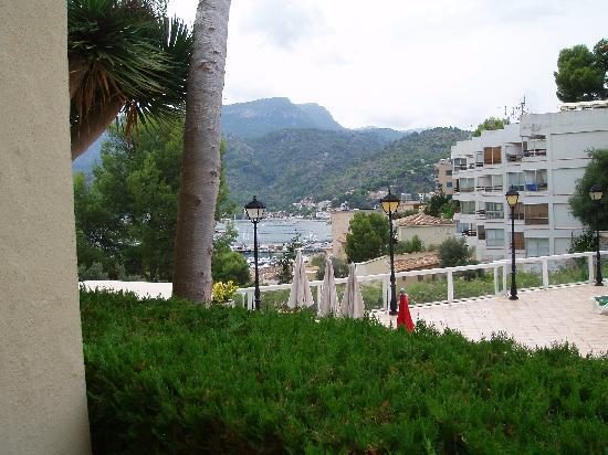 SENTIDO Porto Soller: View from Hotel Portosoller bedroom balcony - all sea views
