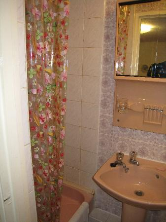 Russell House Hotel: Toilet