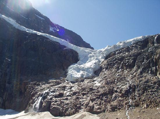 Mt. Edith Cavell: the Angel Glacier
