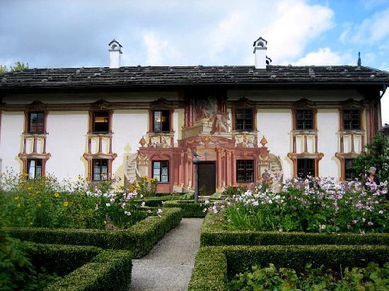 Oberammergau, Alemania: Pilatushaus - 18. Jhdt.