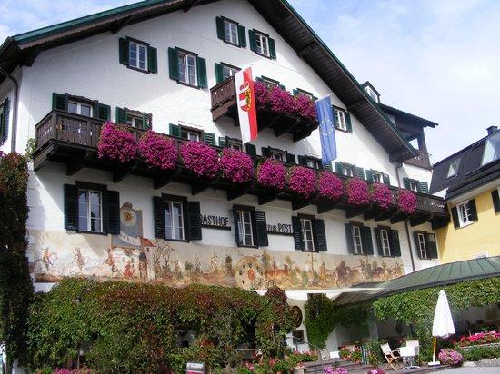 Gasthof zur Post: Front Of Hotel