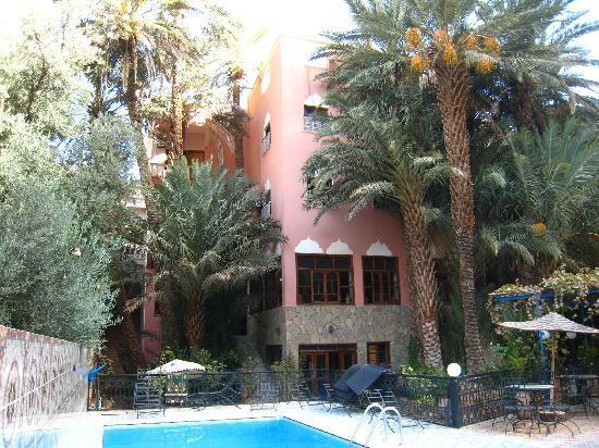 Hotel Amazir: depuis le jardin