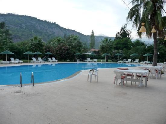 Odile Hotel: poolside