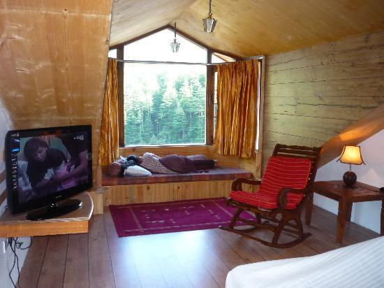 Manali Heights : inside room