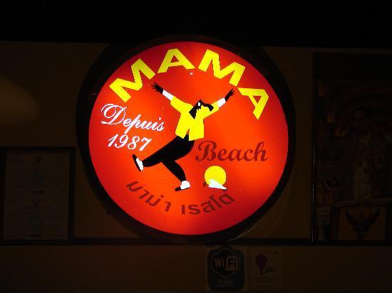 Mama Beach Residence: le célèbre Mama.