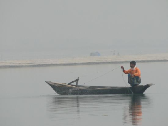 Assam, India: River Boat