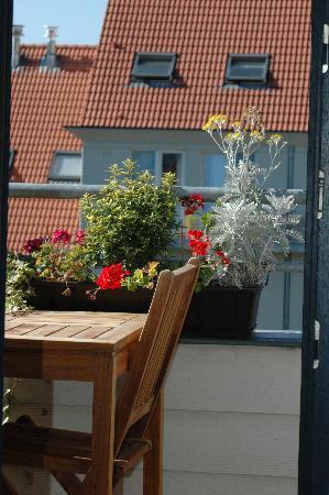 A-XL Flathotel: The balcony