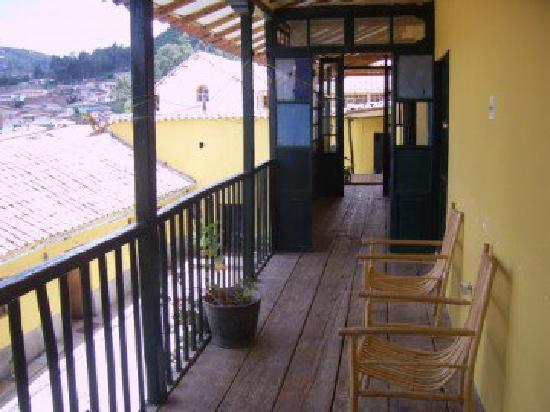 Mirador del Inka: Son fotos del patio