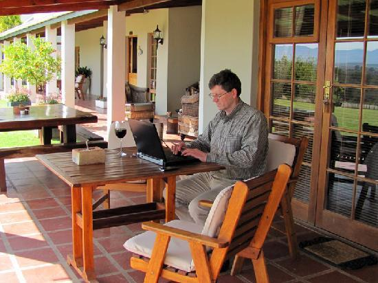 Mooiplaas Guesthouse: Free wi-fi  - ideal for business travellers