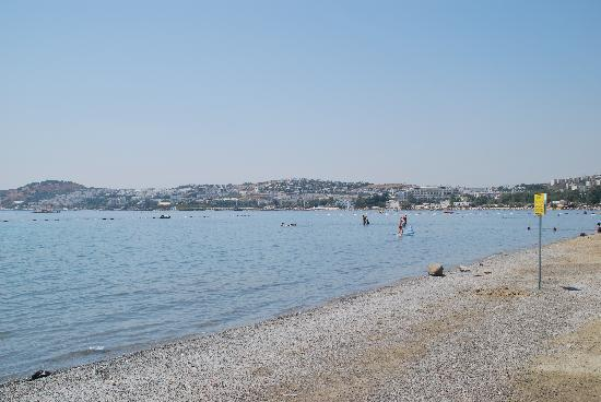 Gumbet beach