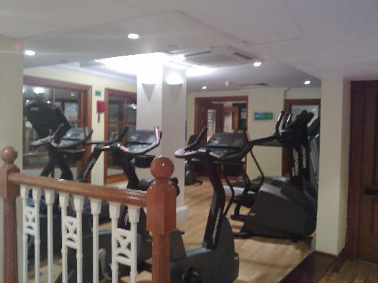Leeds Marriott Hotel: Marriott Gym