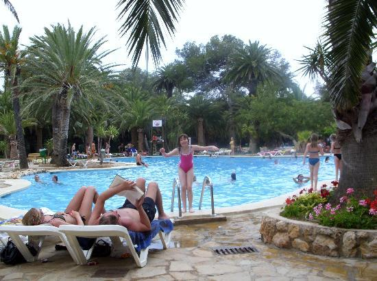 Mont-Roig del Camp, Spanien: pool area