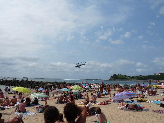 St-Jean-de-Luz, Francia: The beach