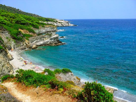 Skopelos, Greece: Perivoli Beach.