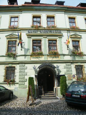 Hotel Sighisoara: The hotel (Outside)