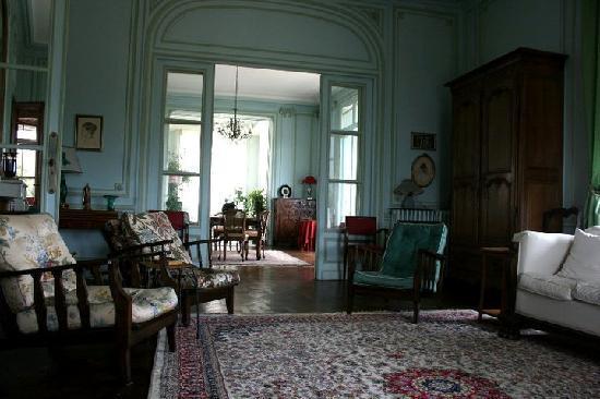 Villa le Goeland : Uno dei salotti