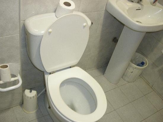 Hostal San Medin: Il bagno2