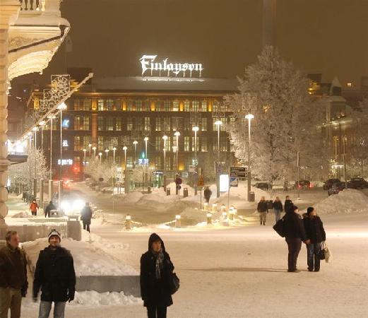 Tammerfors, Finland: Winter in Finlayson