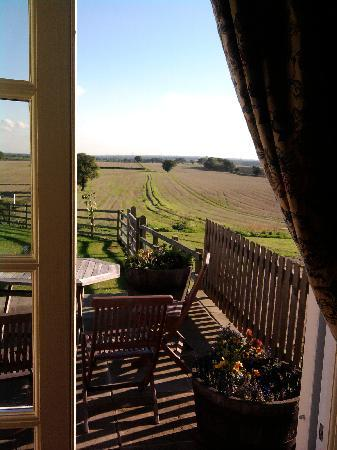 Crayke, UK: View from Minster suite