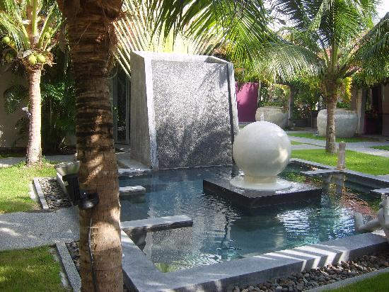 Ban Kao Tropical Boutique Residence & Spa: Jacuzzi at Spa