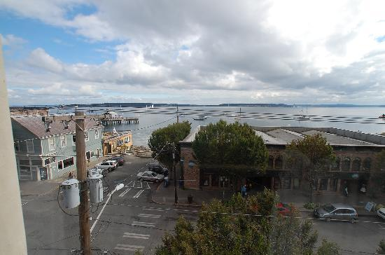 Palace Hotel Port Townsend: Miss Kitty 3rd floor view