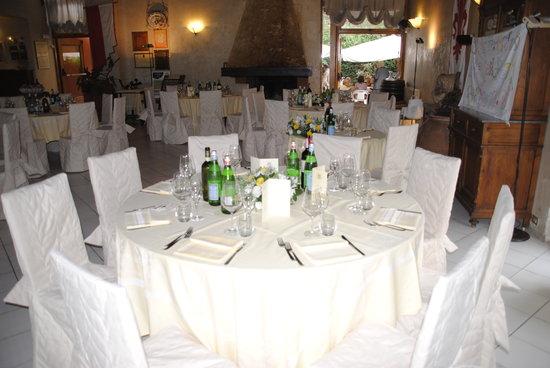 Calenzano, Italia: Tavolo da Cena di Gala