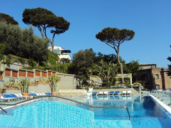 The Swimming Pool Picture Of Hotel Bristol Sorrento Tripadvisor