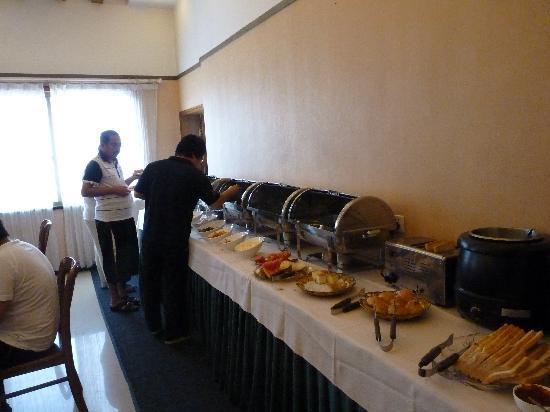 Byland Hotel : Breakfast buffet